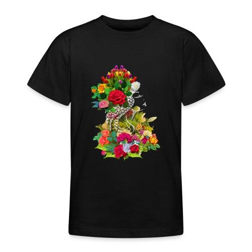 Lady flower - T-shirt Ado