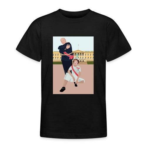 Slottet - T-skjorte for tenåringer