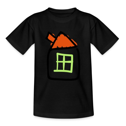 House Line Drawing Pixellamb - Teenager T-Shirt