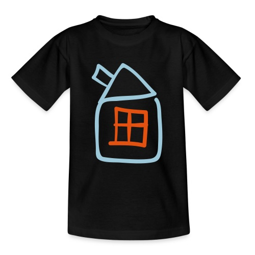 House Outline Pixellamb - Teenager T-Shirt