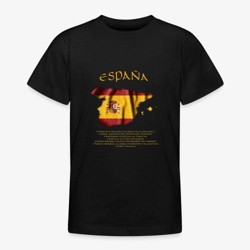 Spanische Flagge - Teenager T-Shirt