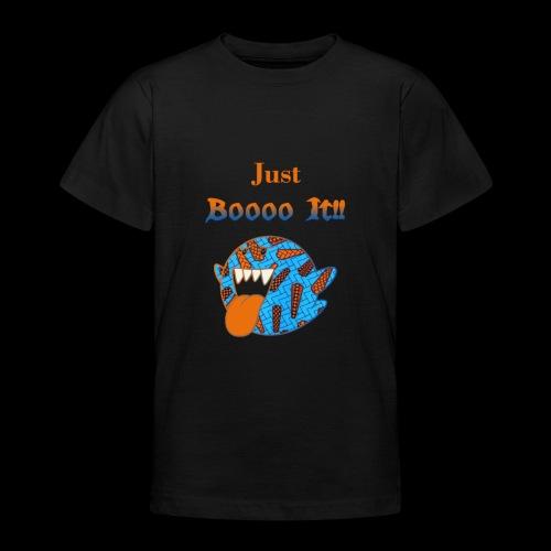 Just Boooo It : Orange Power !!! - T-shirt Ado