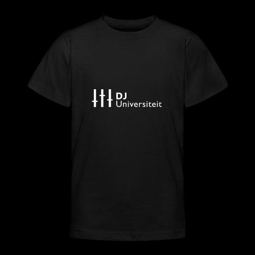 DJ-U (WIT) - Teenager T-shirt
