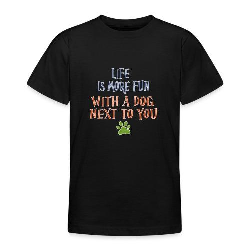 Hondenshirt met tekst - Teenager T-shirt
