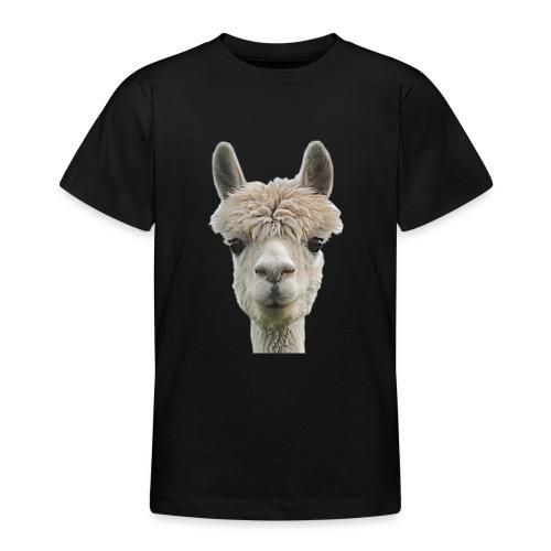 Alpaka Lama Kamel Peru Anden Südamerika Wolle - Teenager T-Shirt