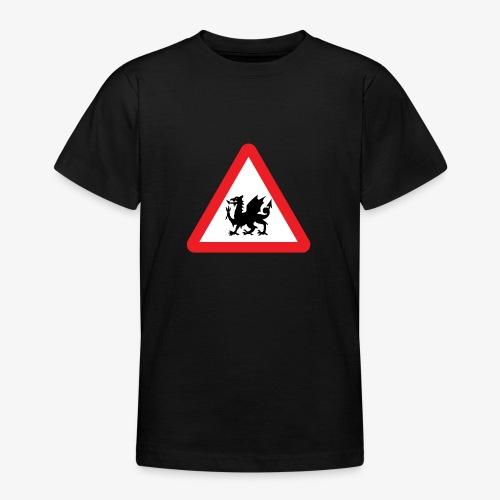 Welsh Dragon - Teenage T-Shirt