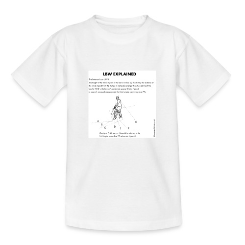 lbw3 - Teenage T-Shirt