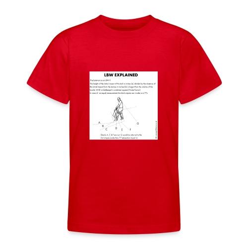 lbw3 - Teenage T-Shirt