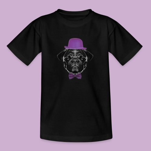 Mops Puppy - Teenager T-Shirt