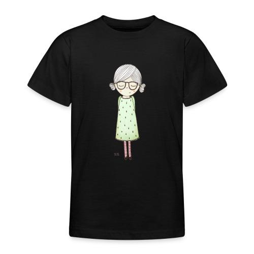 meisje met bril - Teenager T-shirt