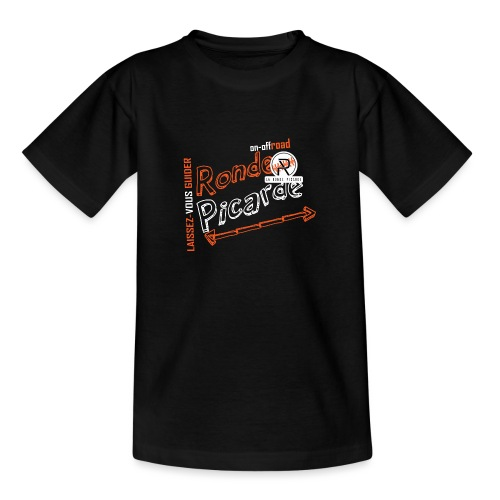 On-offRoad Ronde Picarde - T-shirt Ado