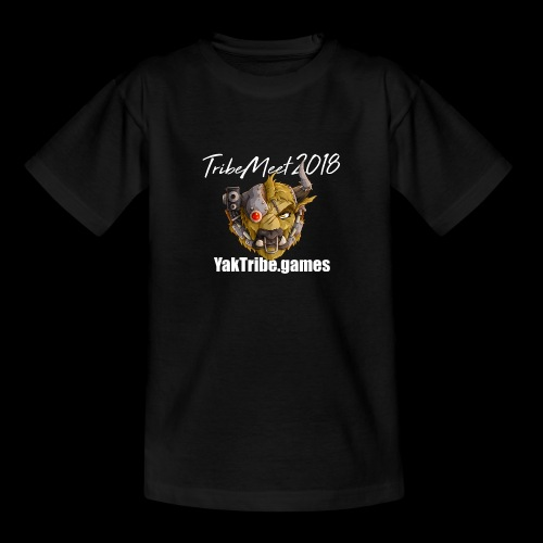 YakTribe Tribemeet 2018 Dark - Teenage T-Shirt
