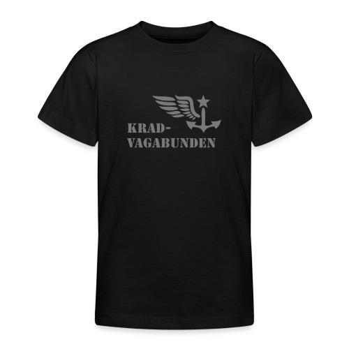 Krad-Vagabunden - Logo + Schriftzug - V2 - Teenager T-Shirt