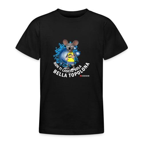 Bella Topolona testo Bianco - Maglietta per ragazzi