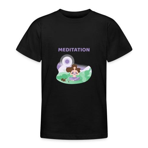 Yoga Meditation - Maglietta per ragazzi