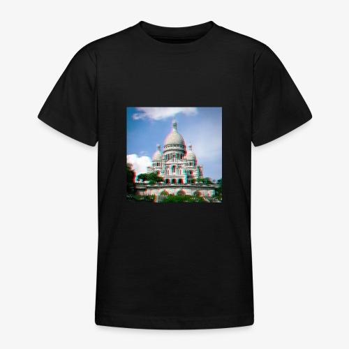 SacreCoeur Anaglyph - Teenager T-Shirt
