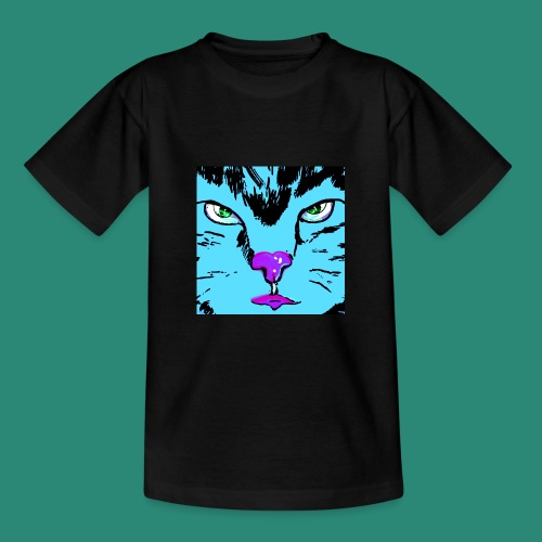 Der blaue Kater - Teenager T-Shirt