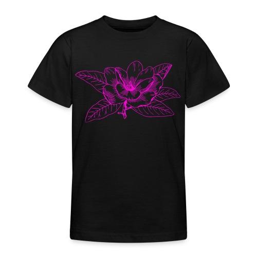 Camisetas y accesorios de flor color rosada - Camiseta adolescente