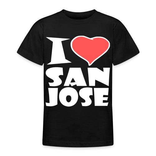 I love San Jose - Teenager T-Shirt