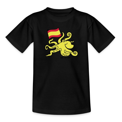 Paul the Octopus is Spanish! - Teenage T-Shirt