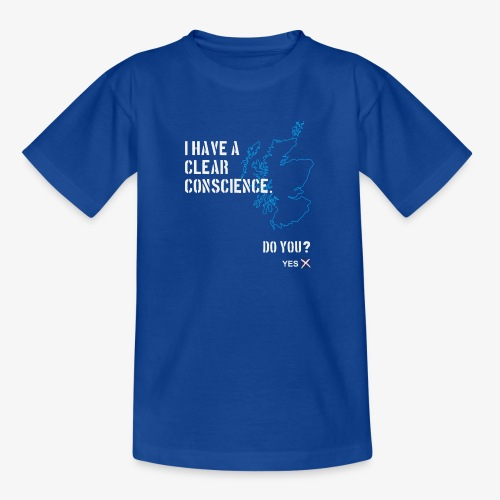 Clear Conscience - Teenage T-Shirt