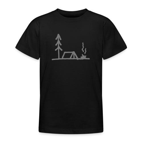 Camping - Teenager T-Shirt