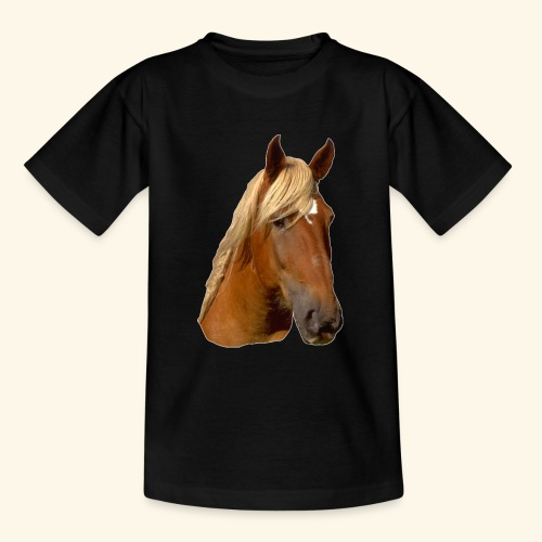 Horse Head - Teenage T-Shirt