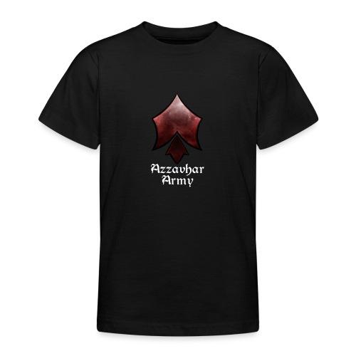 Azzavhar Army Insignia - Teenage T-Shirt