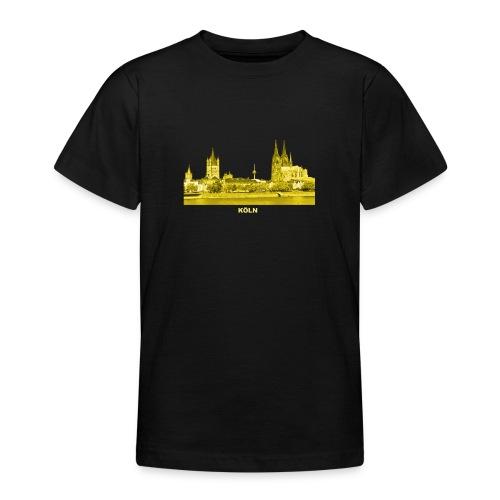 Köln Dom Rhein Nordrhein-Westfalen Deutschland - Teenager T-Shirt