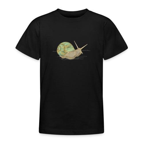 Schnecke, Weinbergschnecke - Teenager T-Shirt