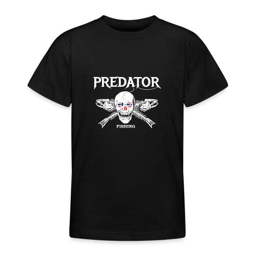 Predator fishing Norwegen - Teenager T-Shirt