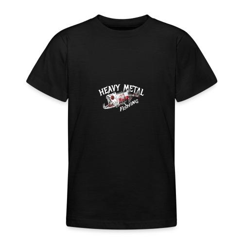 heavy metal fishing Holland - Teenager T-Shirt