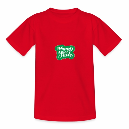flubbers new year - Teenager T-Shirt