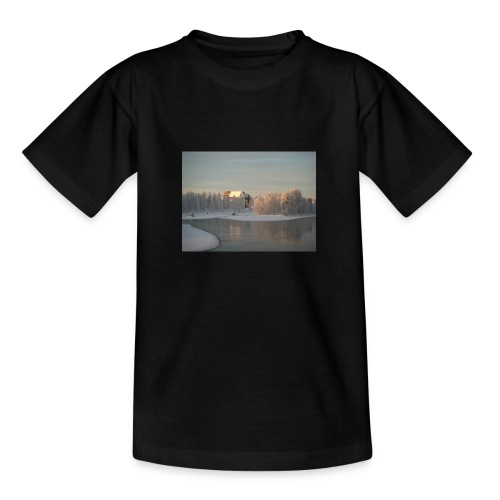 Talvinen Joensuu - Nuorten t-paita