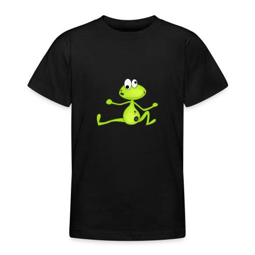 Lustiger Frosch - Teenager T-Shirt