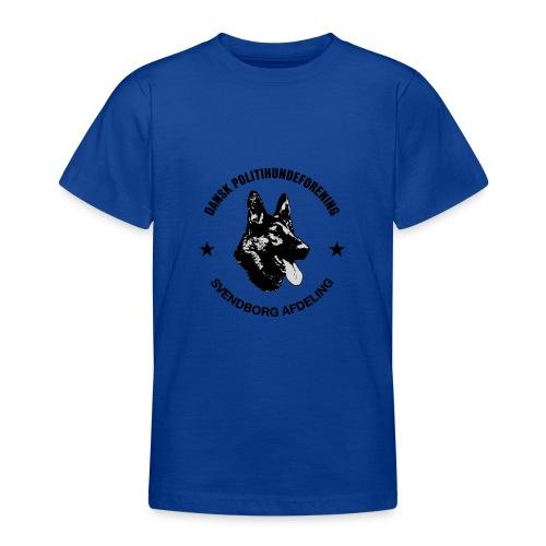 Svendborg ph sort - Teenager-T-shirt