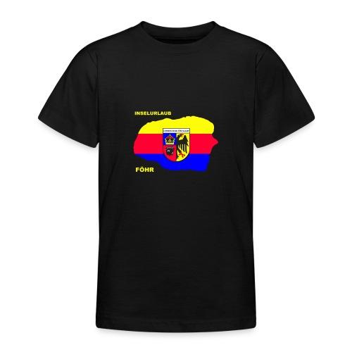 Foehr Insel Nordsee Urlaub - Teenager T-Shirt