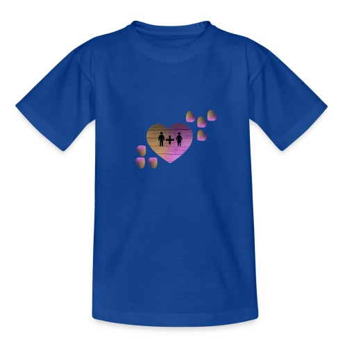 couple amoureux - T-shirt Ado