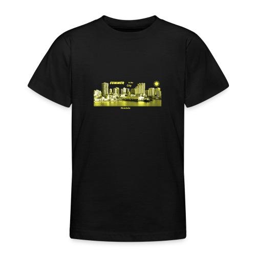 Honolulu Hawaii Summer City - Teenager T-Shirt