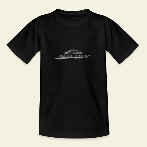 lead sled grey - Teenager-T-shirt