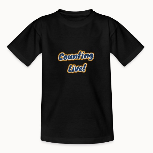 Counting Live: - Teenager T-shirt