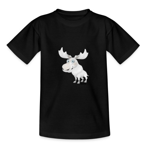 Albino Elch - Teenager T-Shirt