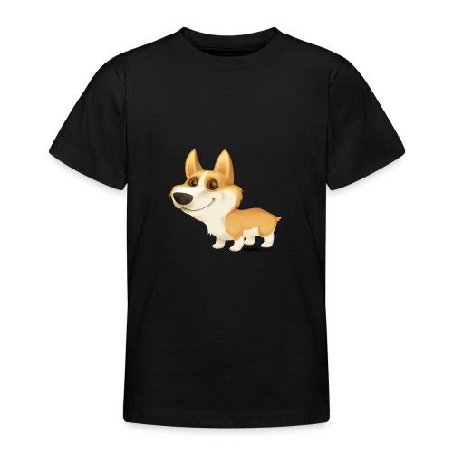 Corgi - T-skjorte for tenåringer