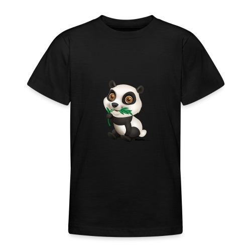 Panda - T-skjorte for tenåringer