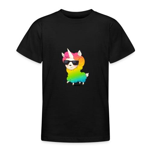 Regenbogenanimation - Teenager T-Shirt