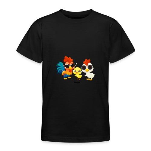 Huhn - von Momio Designer Emeraldo. - Teenager T-Shirt
