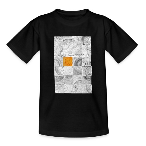 Cubes de Bois - T-shirt Ado
