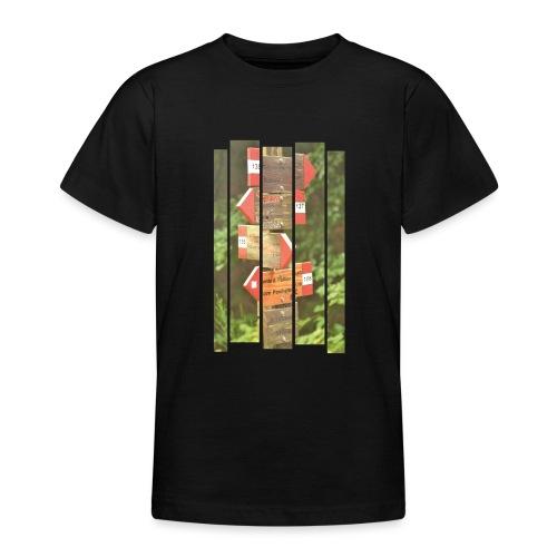 De verwarde hike - Teenager T-shirt