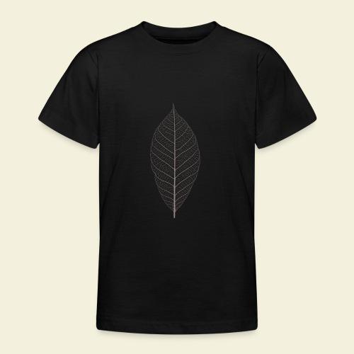 Feuille marron Squelette - T-shirt Ado