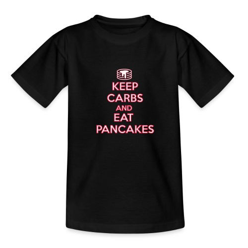 KEEP CARBS AND EAT PANCAKES - Maglietta per ragazzi